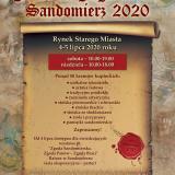 Jarmark Jagielloński 2020 w Sandomierzu