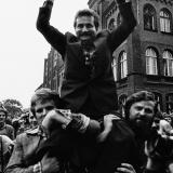 Wystawy w BWA i spotkanie z autorem zdjęć ze strajku w Stoczni Gdańskiej