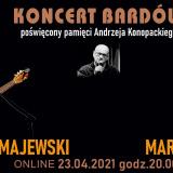 Koncert bardów – poświęcony pamięci Andrzeja Konopackiego [wydarzenie online]