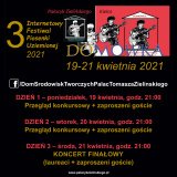 3. Internetowy Festiwal Piosenki Uziemionej DOMÓWKA 2021