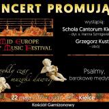 Mid Europe Early Music Festival - koncert promujący
