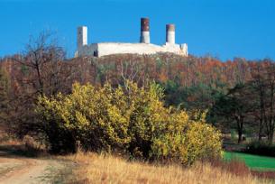 Zamek w Chęcinach jesienią2