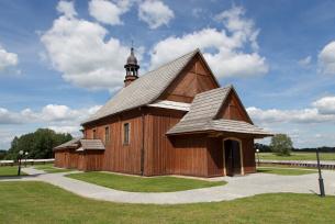 Pratulin - kościół drewniany