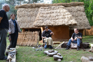 Krzemionki - rekonstrukcja wioski