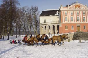 Kulig pod Pałacem