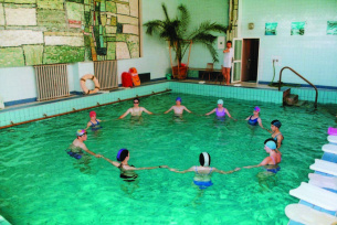 Sanatorium Włókniarz - basen