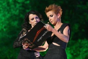 Katarzyna Pakosińska i Katarzyna Zielińska