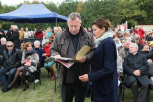 Ks. Wiesław Kowalewski i Ania Popek