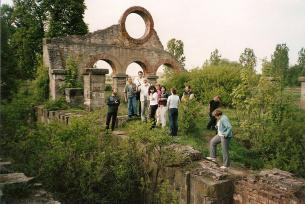 Pozostałości walcowni w Nietulisku