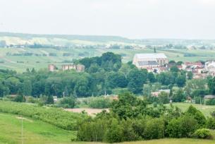 Bodzentyn - widok na miasto