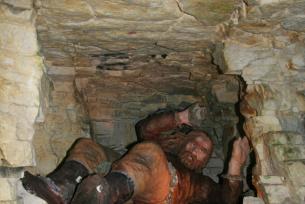 Rekonstrukcja prac dawnych prac górniczych