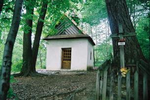 Kapliczka w Sw. Katarzynie