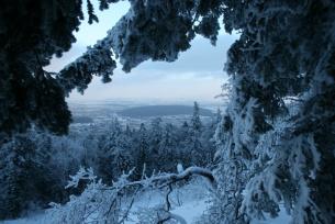 Widok na Górę Chełmowa