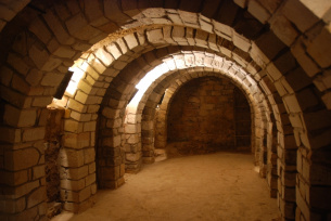 Podziemna trasa turystyczna w Opatowie (realizacja: Edyta Ruszkowska)