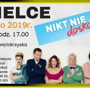 """""""Nikt nie jest doskonały"""" - spektakl komediowy w Kielcach"""