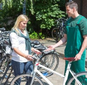 Hostel Lubrzanka - wypożyczalnia rowerów