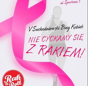Suchedniowski Bieg Kobiet – nie cyckamy się z rakiem!