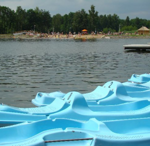 Zalew strzeżony Gutwin (kąpielisko dostępne 15.06. - 15.09.)