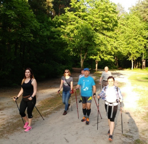Trasy nordic walking w Sielpi