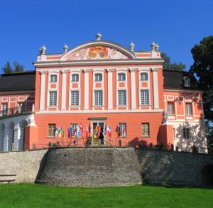 Palace in Kurozwęki - regional souvenir shop