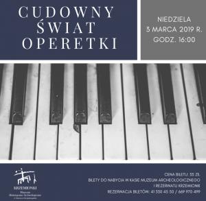 """""""Cudowny świat operetki"""" - koncert w Ostrowcu Świętokrzyskim"""