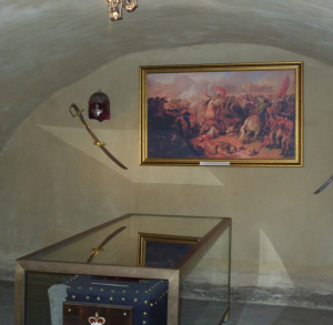 Crypt on the Święty Krzyż Mountain