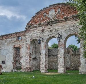 Knight Castle in Sobków