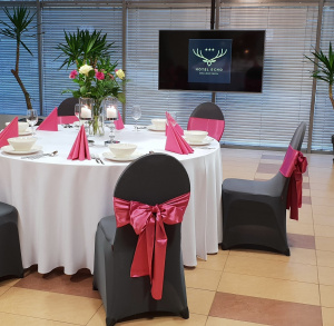 Restauracja w Hotelu Echo Hotel& Resort Cedzyna