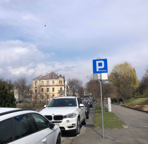 Parking przy ul. Staszica