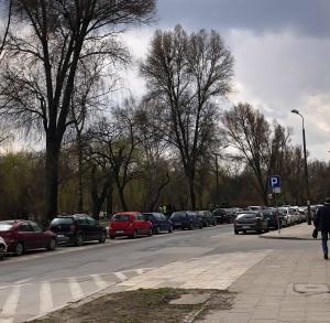 Parking przy ul. Kaczmarka