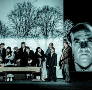 """Spektakl """"Widnokrąg"""" w Teatrze Żeromskiego"""