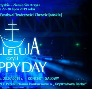 """Festiwal """"Alleluja czyli Happy Day"""""""