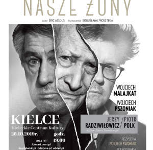Teatr Syrena: Nasze żony w Kieleckim Centrum Kultury