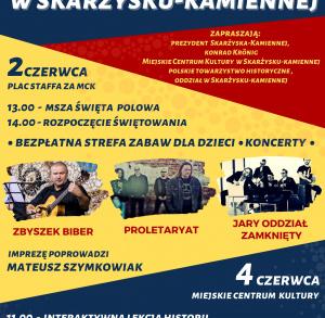 Święto wolności w Skarżysku-Kamiennej