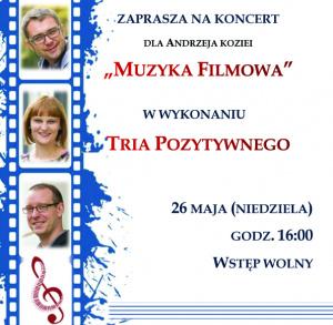 Trio Pozytywne - dla Andrzeja Koziei w Świętokrzyskim Sztetlu