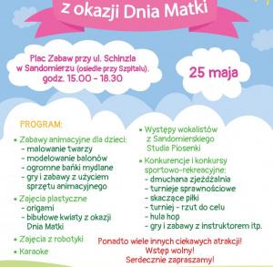 Piknik z okazji Dnia Matki w Sandomierzu