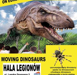 Kielce Dino Expo – podróżnicza wystawa dinozaurów, żywe pająki