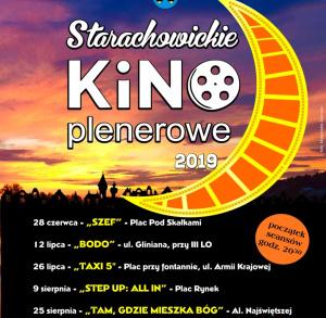 Plenerowe Kino Letnie w Starachowicach