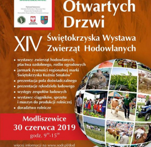 Dzień Otwartych Drzwi oraz XIV Świętokrzyskiaj Wystawa Zwierząt Hodowlanych w Modliszewicach