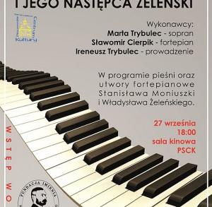 """Koncert """"Moniuszko i jego następca Żeleński"""" w Pińczowie"""