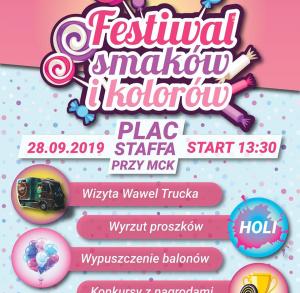 Festiwal Smaków i Kolorów w Skarżysku-Kamiennej