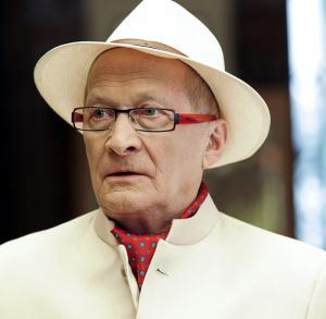 Podwieczorek z gwiazdą - Wojciech Pszoniak