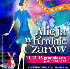 """Spektakl """"Alicja w Krainie Czarów"""" w Kieleckim Teatrze Tańca"""