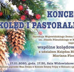 Kolędowanie z biskupem Marianem Florczykiem w WDK