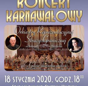 Koncert karnawałowy w Starachowicach