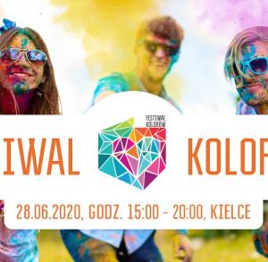 Festiwal Kolorów w Galerii Korona Kielce