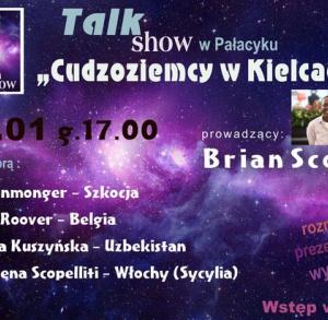Cudzoziemcy w Kielcach - Talk show. Prowadzenie Brian Scott