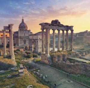 Rzymskie wakacje w Da Vinci