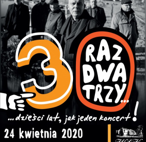 Raz dwa trzy zagra w Kielcach