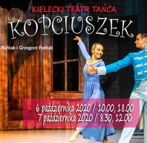 """""""Kopciuszek"""" w Kieleckim Teatrze Tańca"""